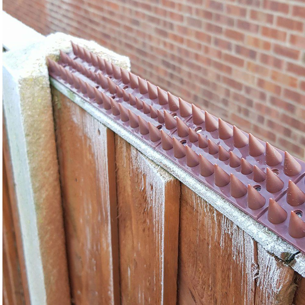 Fence Wall Spikes Garden Security Intruder Bird Cat